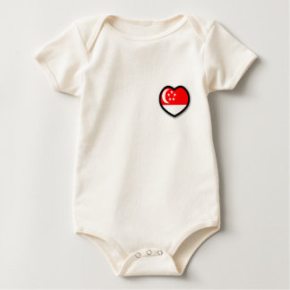 My Heart In Singapore Infant Organic Creeper
