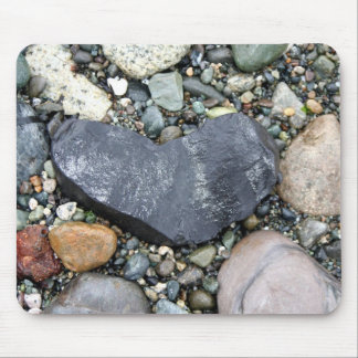 My Heart Is A Rock Mouse Pad