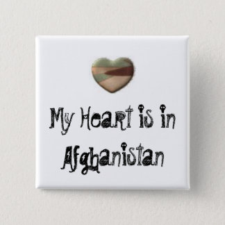 My Heart is in Afghanistan button