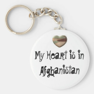 My Heart is in Afghanistan key chain