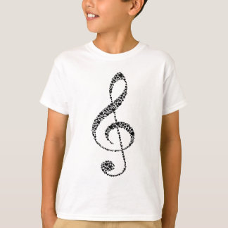 My Heart is in the Music (black design) T-Shirt