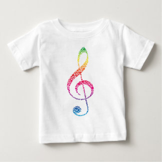 My Heart is in the Music (white) Baby T-Shirt