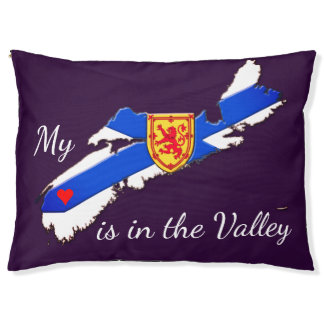 My Heart is in the valley N.S. pet  dog bed pillow