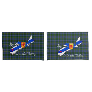My Heart is in the valley Nova Scotia pillow case
