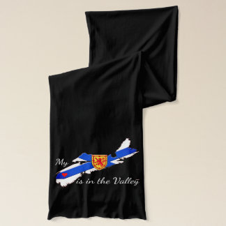 My Heart is in the valley Nova Scotia scarf
