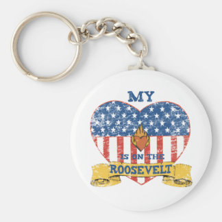 My Heart is on the Roosevelt Key Ring