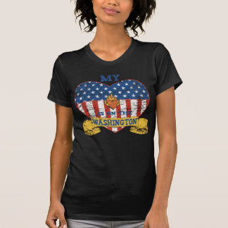My Heart is on the Washington T-Shirt