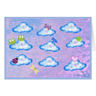 My Heart is sittin' on Cloud 9 Valentine Card