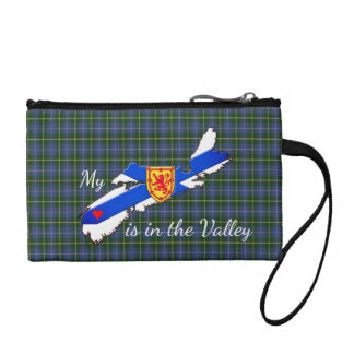 My Heart is the valley Nova Scotia coin purse
