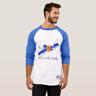 My Heart is the valley Nova Scotia shirt
