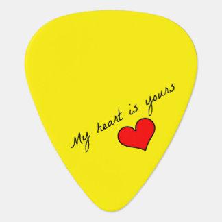 My Heart is Yours Guitar Picks Plectrum