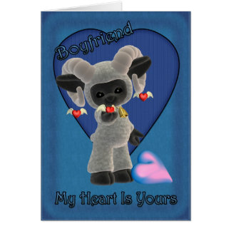 My Heart Is Yours St. Valentine's Day Card with Sh