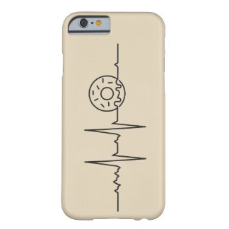 My heart marries beats for Donuts Barely There iPhone 6 Case