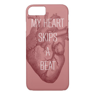My Heart Skips A Beat iPhone 7 Case
