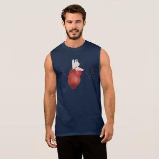 My heart sleeveless shirt