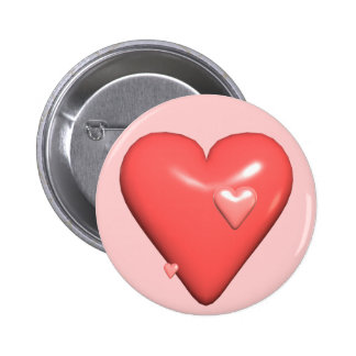My Heart T-shirts and Gifts Pinback Button