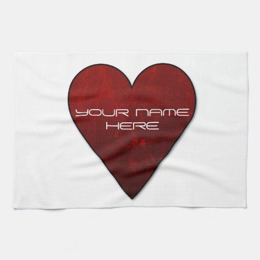 My Heart Kitchen Towel