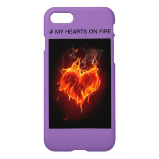 # MY HEARTS ON FIRE iPhone 8/7 CASE