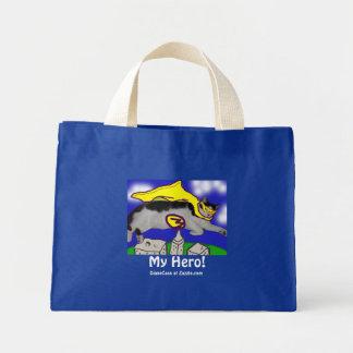 My Hero Cat Mini Tote Bag