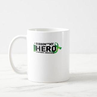 My Hero Lymphoma Awareness Support Gifts Coffee Mug