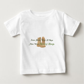 My Hero Wears Combat Boots Baby T-Shirt