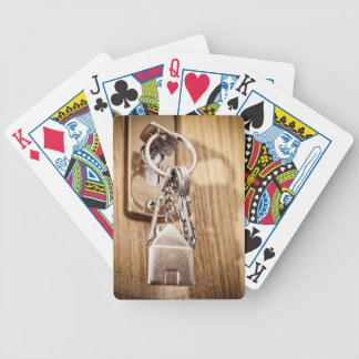 My home bicycle playing cards