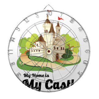 my home my castle dartboard