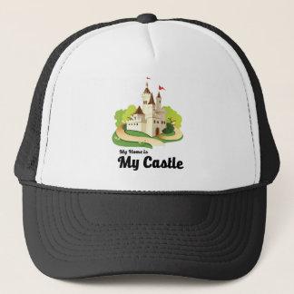 my home my castle trucker hat
