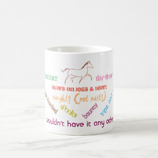 My horse - cheeky day dreamer coffee mug
