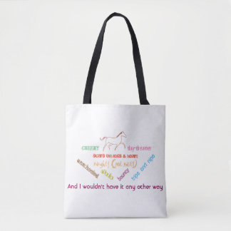 My horse - cheeky day dreamer tote bag