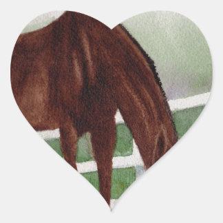 My Horse Heart Sticker