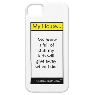 My House iPhone 5 Cases