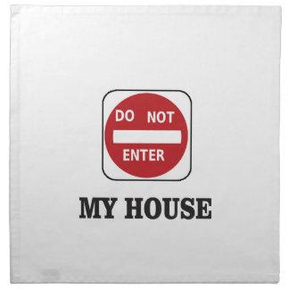my house dne napkin