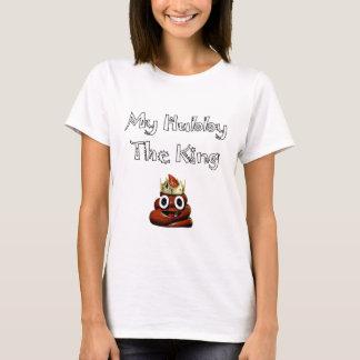 My Hubby The King Emoji T-Shirt