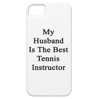 My Husband Is The Best Tennis Instructor iPhone 5 Covers