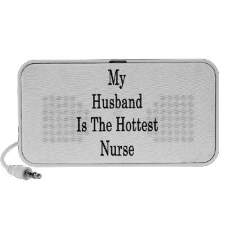 My Husband Is The Hottest Nurse Notebook Speakers