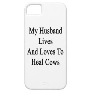 My Husband Lives And Loves To Heal Cows iPhone 5 Covers
