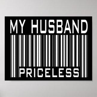 My Husband Priceless Poster