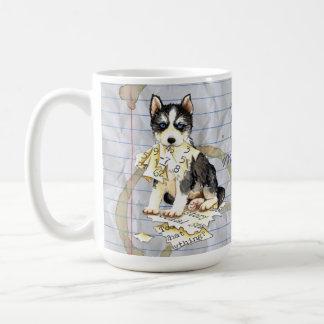 My Husky Ate my Lesson Plan Coffee Mug