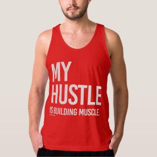 My hustle is building muscle singlet
