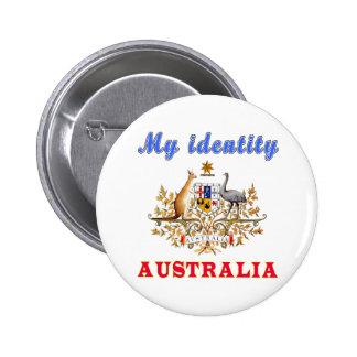 My Identity Australia 6 Cm Round Badge