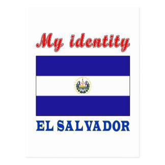 My Identity El Salvador Postcard