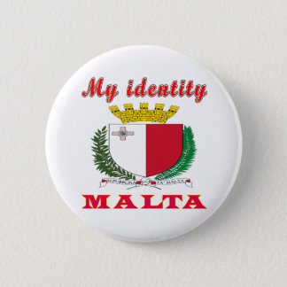 My Identity Malta 6 Cm Round Badge