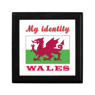 My Identity Wales Small Square Gift Box