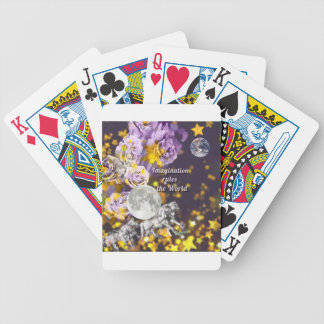 My imagination is endless bicycle playing cards