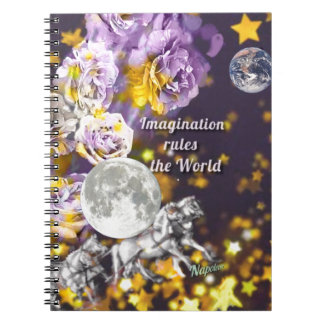 My imagination is endless notebook