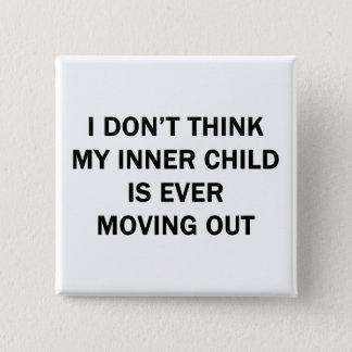My Inner Child 15 Cm Square Badge