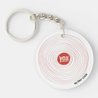 My Inner Circle - You (double-sided) Keychain