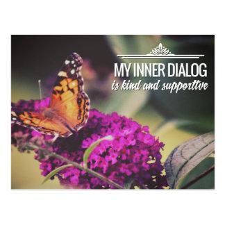 My Inner Dialog Postcard