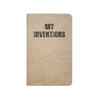 "My Inventions - Pocket Notebook 3.5"" x 5.5"""